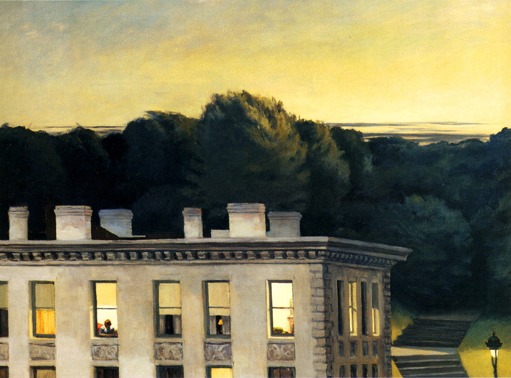 House at dusk, Edward Hooper, 1935,Virginia, Museum of fine arts, Richmond