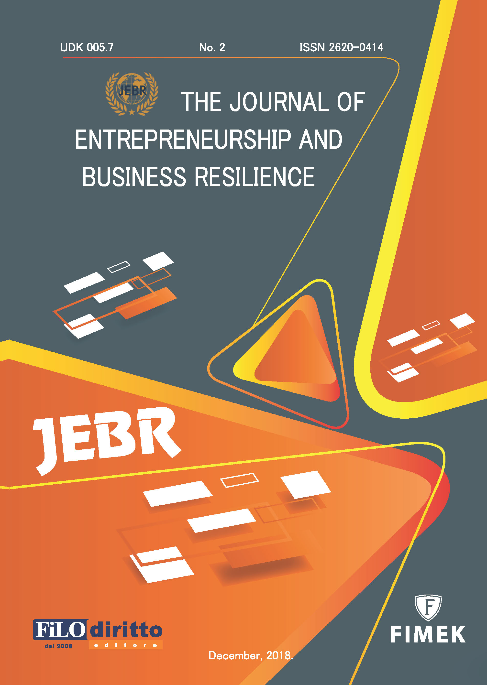 Journal of Entrepreneurship and Business Resilience (JEBR) - December 2018