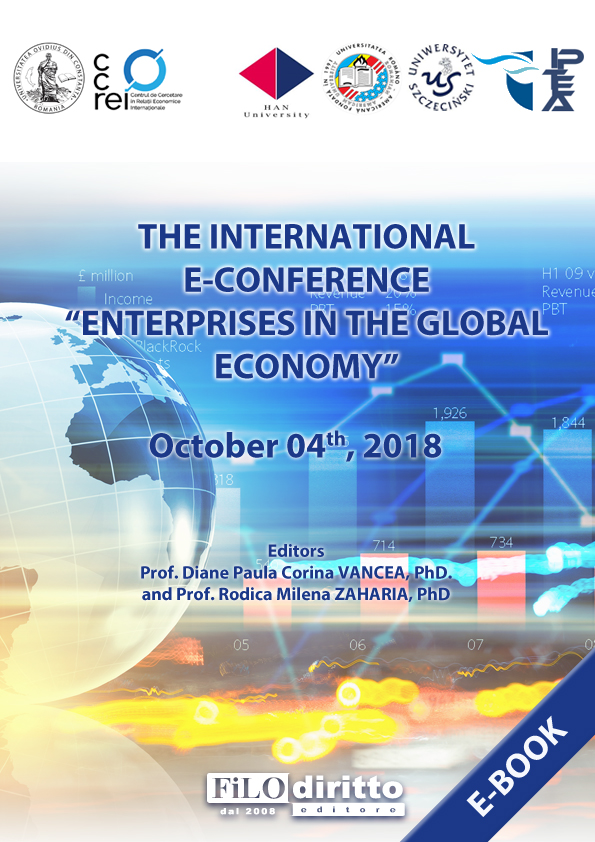 "3rd International e-conference ""Enterprises in the Global Economy"" - EGE 2018"