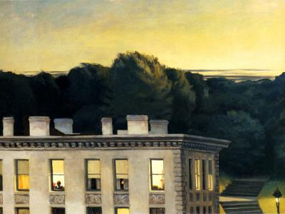 House at dusk, Edward Hooper, 1935