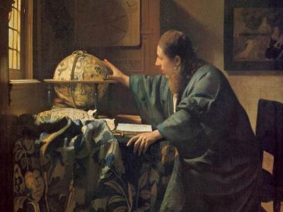 The Astronomer, Johannes_Vermeer, 1668, Louvre