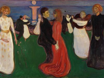 The dance of life, Edward Munch, 1899-1900