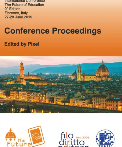 9th International Conference The Future of Education (Florence, Italy, 27-28 June 2019)