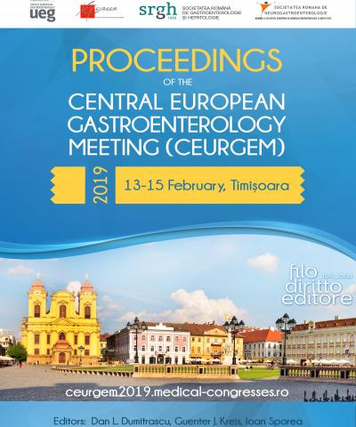 Central European Gastroenterology Meeting - CEURGEM (Timisoara, Romania, 13-15 February 2019)