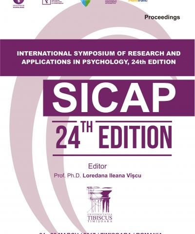 24th International Symposium of Research and Applications in Psychology, SICAP 2017