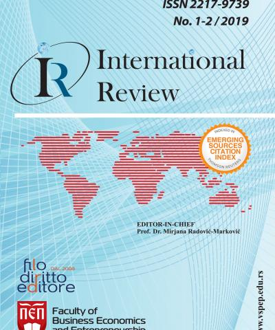 International Review - No. 1-2/2019