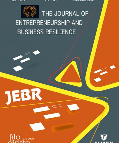 Journal of Entrepreneurship and Business Resilience (JEBR) - July 2019