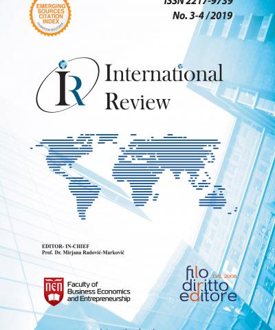 International Review - No. 3-4/2019