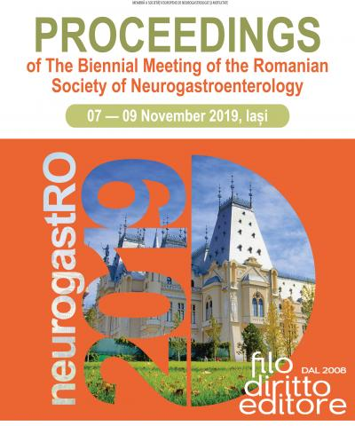 Biennial Meeting of the Romanian Society of Neurogastroenterology  (7-9 November 2019, Iasi, Romania)