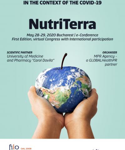 Nutrition, Diet Therapy & Food Safety in the Context of the COVID-19 Nutri Terra (28-29 May 2020, Bucharest, Romania)