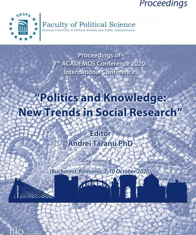 "7th ACADEMOS Internat. Conf. ""Politics and Knowledge: New Trends in Social Research"" (Bucharest, Romania, 7-10 October 2020)"