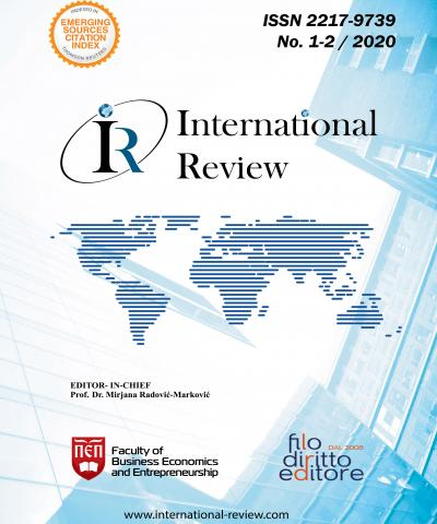 International Review - No. 1-2/2020